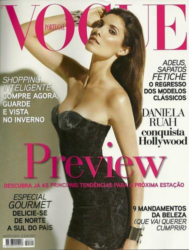 Daniela Ruah wallpaper entitled Daniela @ Vogue Portugal [August 2010]