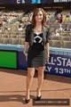 Demi Lovato-july11th 唱歌 the National Anthem at Dodgers vs. Cubs game.