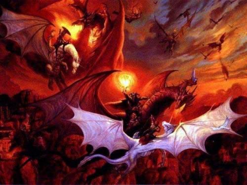 dragons fond d'écran entitled Dragon