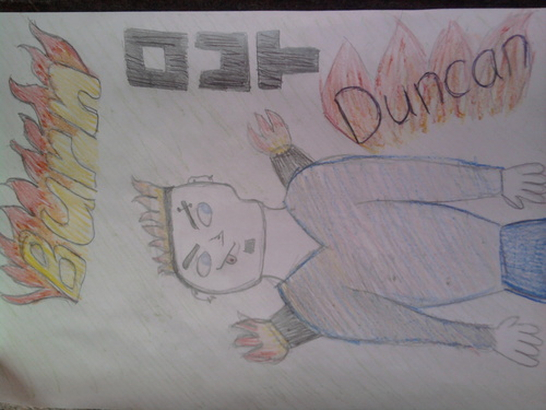 Duncan and Courtney wallpaper titled Duncan As A Super Villain! <333