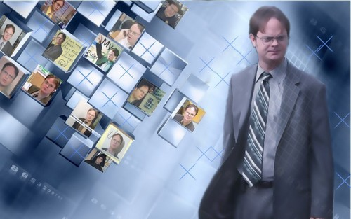 Dwight wallpaper I have done