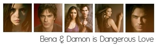 Elena & Damon are Dangerous 사랑 ♥