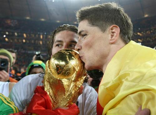 Fernando Torres - Spain (1) vs. Netherlands (0)