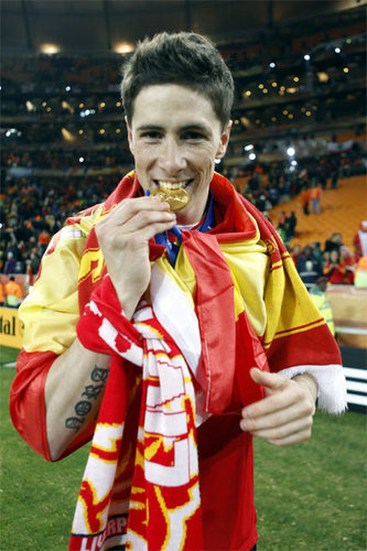 Fernando Torres - Spain (1) vs. Netherlands (0)