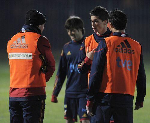 Fernando Torres - Spain Trainin