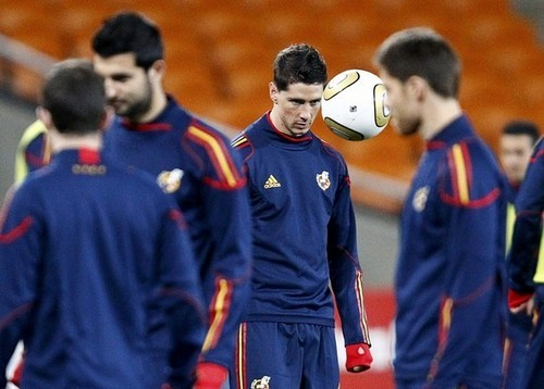 Fernando Torres Hintergrund entitled Fernando Torres - Spain Training