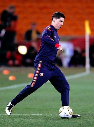 Fernando Torres - Spain Training