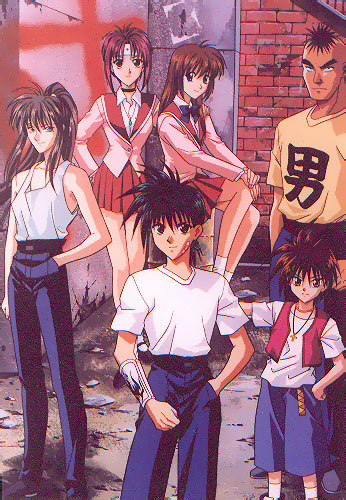 Flame Of Recca wallpaper titled Flame of Recca