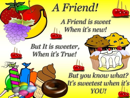 Best Friend Quote Sweet : Friendship images for my sweet friend rachel hd