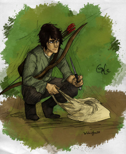 Gale - the-hunger-games Fan Art