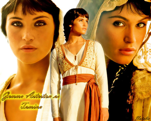 Gemma as Princess Tamina - gemma-arterton Wallpaper