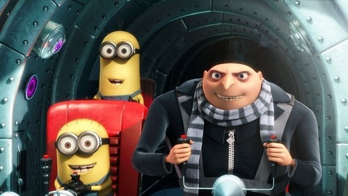 Gru and evil minions - despicable-me Screencap