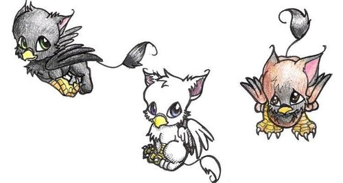 Gryphons! So Cute:)