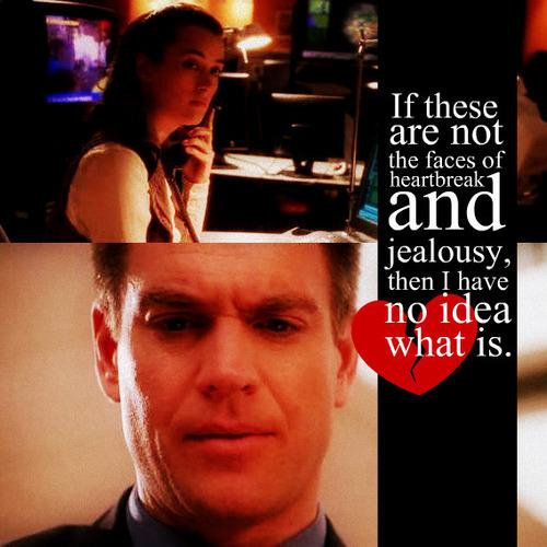 Heartbreak and Jealousy.