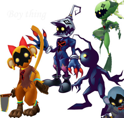 the random creatures of anime images heartless wallpaper and