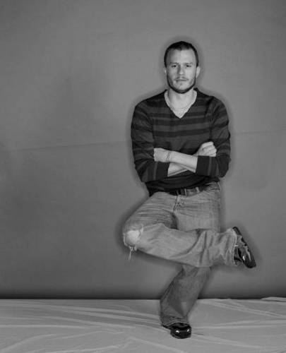 Heath Ledger photoshoot