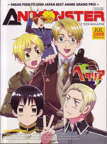 Hetalia: Axis Power:Animonster cover