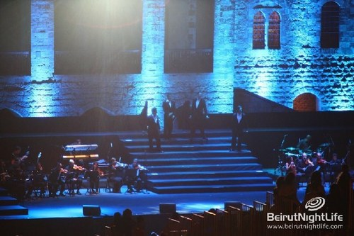Il Divo wallpaper entitled Il Divo in Beiteddine Festival