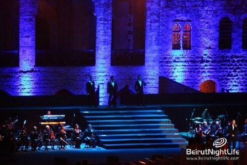 Il Divo in Beiteddine Festival