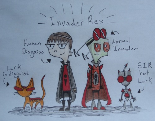 Invader Rex and SIR Lurk