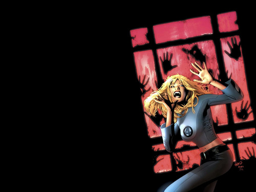 Femme Fatales Wallpaper Entitled Invisible Woman
