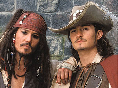jack sparrow and will turner