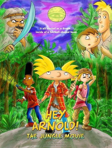 ارے Arnold! پیپر وال entitled Jungle Movie