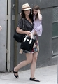 Katie Holmes and Suri Cruise upset leaving a photoshoot. - suri-cruise photo