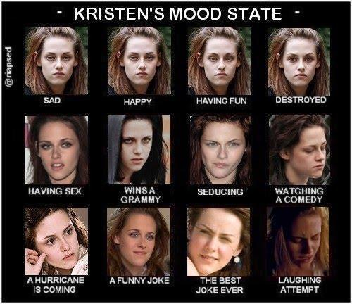 harry potter contra crepúsculo wallpaper entitled Kristen's Mood State