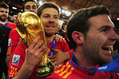 Spain National Football Team wallpaper titled La Furia Roja - The Champions