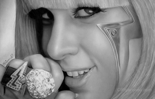 Lady GaGa Art