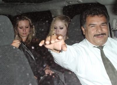 Leaving Troubadour Nightclub in West Hollywood - 09.07.10