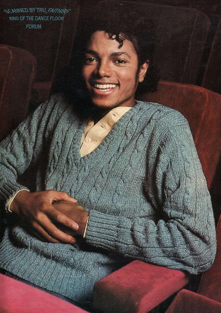 MJ IN ENCINO THRILLER ERA