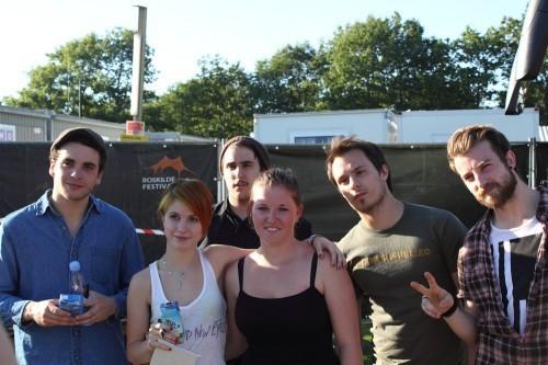 Meet & Greet Paramore Roskilde 2010