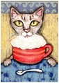 Meow! - coffee fan art