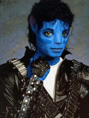 Michael as...an Avatar! =D