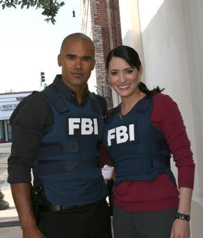 Criminal Minds achtergrond entitled morgan and Prentiss