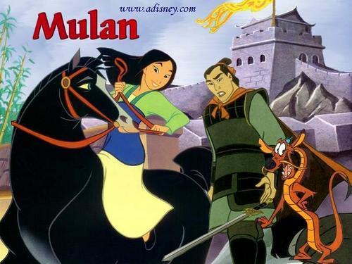 Disney Princess wallpaper entitled Mulan