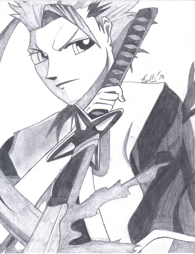 My drawing of Toshiro