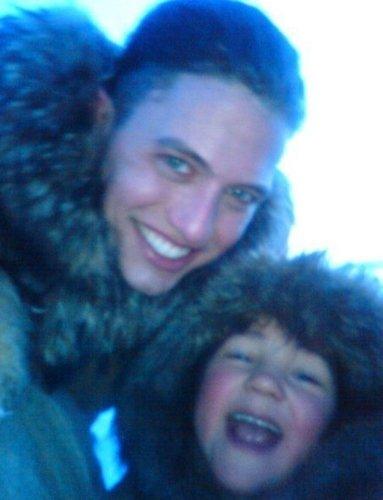 Nessie with Uncle Jasper