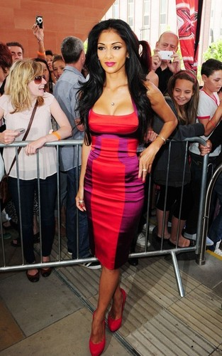 """Nicole Scherzinger out for """"X Factor"""" auditions (July 11)"""