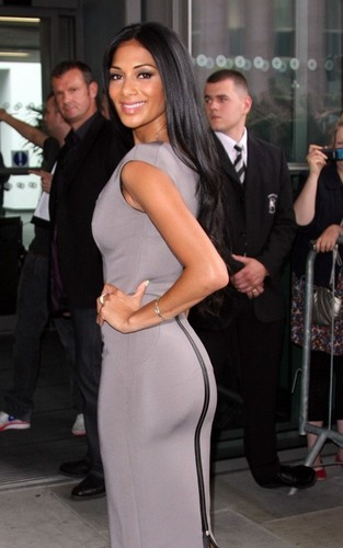 "Nicole Scherzinger out for ""X Factor"" auditions in Manchester (July 9)"