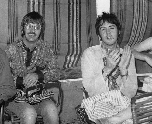 Paul and Ringo in Greece