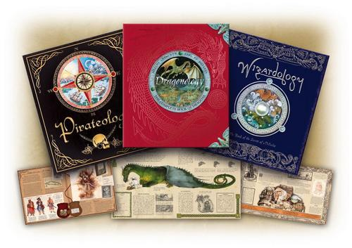 Pirateolgy,Dragonology,Wizardology