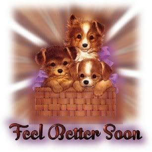 Please feel better soon Berni !