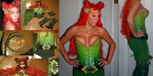 Poison Ivy Costume Halloween 2009