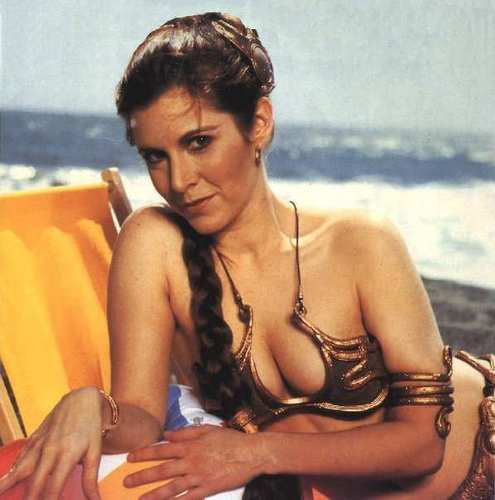 Princess Leia on the plage 2