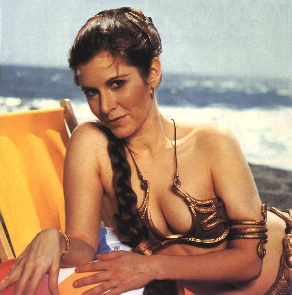 Princess Leia on the समुद्र तट 2