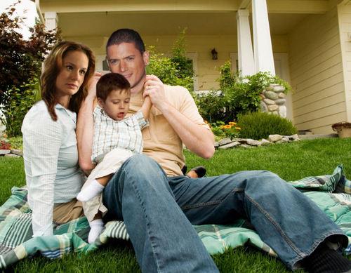 Prison Break - finale - Family Scofield