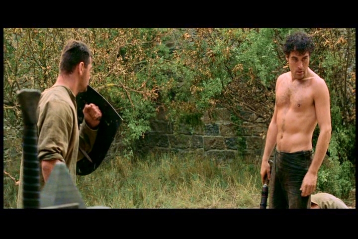 "RUFUS SEWELL(COUNT ADHEMAR) IN ""A KNIGHT'S TALE"". EXTENDED CUT"